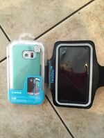 Samsung Galaxy S6 edge case and jogging band