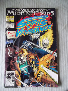 Marvel Comic Book - Rise of the Midnight Sons