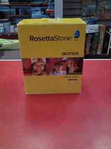 Logiciel pour apprendre l'Allemand RosettaStone