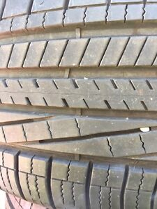 2 tires P245/45R19 Goodyear Eagle RS-A2