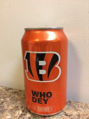 2017 Cincinnati Bengals bud light nfl kickoff beer can collectors 666330