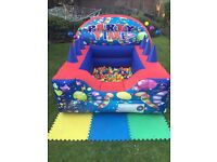 Bouncy Castle Hire - from £45 - Inflatable Ball Pit, Candy Floss/Pop Corn- Face Painting