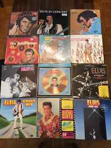 Collection disques vinyles Elvis Presley