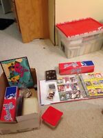 1000's of Cards and a few coin sets