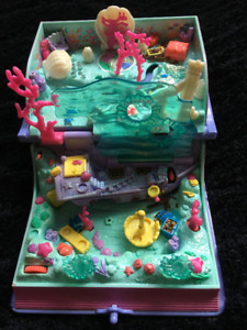 (Vintage) *1995 Polly Pocket- Sparking Mermaid Adventure*