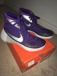 2015 purple Nike Hyperdunks