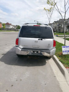2007 NISSAN ARMADA LE 7 PASSENGER - $6000 ONLY. WINTER READY