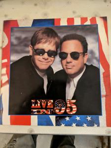 Elton John Billy Joel 1995 tour book