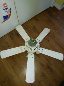 Ventilateur de plafond 5 palettes à vendre 20$