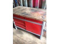 Clarke 5 drawer workbench