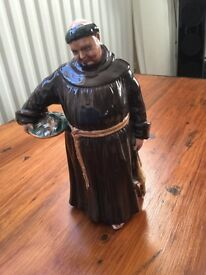 Very collectable Royal Doulton, The jovial monk HN 2144