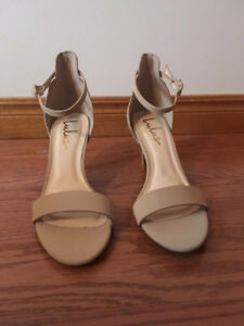 Nude Strappy High Heels - BRAND NEW/NEVER WORN