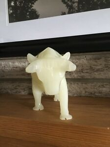 Alabaster Bull Figurine Kitchener / Waterloo Kitchener Area image 3