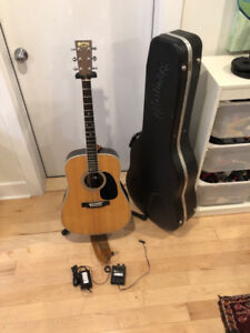 Martin D-35 Acoustic Guitar with K&K Trinity Pro