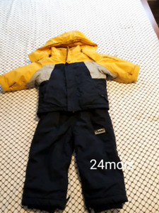 3 ensembles de Manteau hiver 24mois