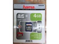 Hama 4GB SD Card