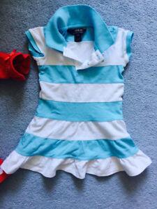 2T Polo girl summer dress  ( worn twice ) 95% new