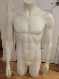 Male Half Size Adult Mannequin