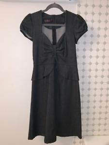 Damzels in this Dress denim dress with peplum  - size M
