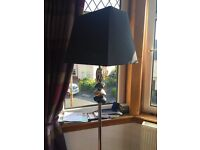 Floor lamp and table lamp £40 for both