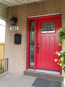 Doors windows Porch enclosure