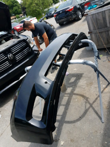 Dodge ram 09 10 11 12 sport bumper avant deja peinturer noir