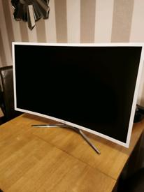 "Viotek 32"" curved pc monitor."