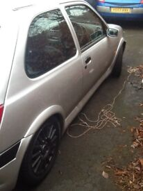Ford Fiesta with puma engine fitted