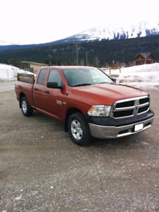 Only 31K Kilometers 2013 Ram 1500 SLX Truck - Priced to sell.