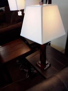 *** USED *** ASHLEY NATANE LAMP (2/CN)   S/N:51179176   #STORE524