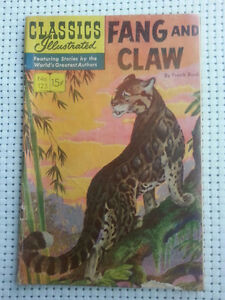 CLASSICS ILLUSTRATED --FANG AND CLAW