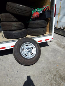 Brand new tires and rims