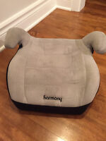 Kids backless booster seat