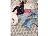 Baby coats