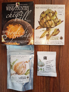 Four Packages of Gourmet Dip Mix for Parties