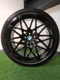 """👀 Rare 20"""" 666 Black M3/M4 competition style BMW Alloy 👀"""