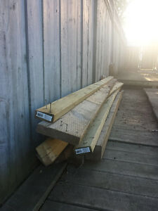 FREE-Wood for Deck /Fence or Firewood & Concrete support pole