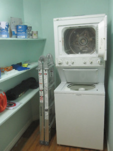 Stackable washer/dryer for sale