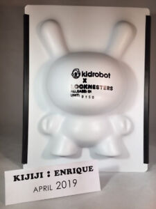 """Kidrobot x Locknesters Puzzle 8"""" Dunny (Limited 250 Pieces)"""