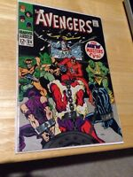 Avengers #54 1968 Marvel Comics first Ultron app.