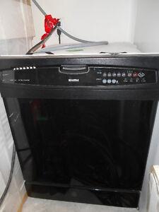 Kenmore built-in Black Dishwasher