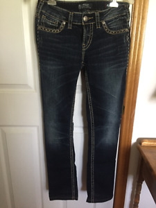 Woman's Silver Aiko Jeans 28