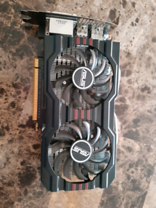 Used Asus 650Ti Boost graphics card