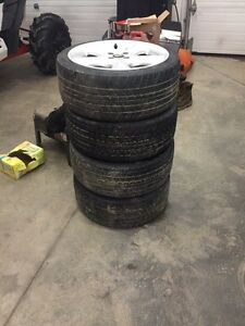 4 bolt rims and tires 205/40 r 17 Chevy cobalt!