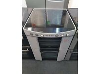 ZANUSSI 60CM CEROMIC TOP ELECTRIC COOKER IN LIGHT GREY. H