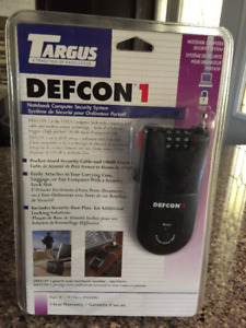 Targus PA400A DEFCON 1 Notebook Computer Security System