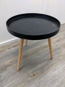 Small three legged black table Greystanes Parramatta Area Preview