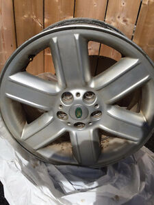 3 original 2003 Range Rover Rims and other stuff