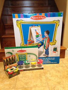 Standing Easle and Supplies- by Melissa & Doug