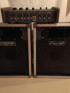 TRAYNOR 4-Channel PA System